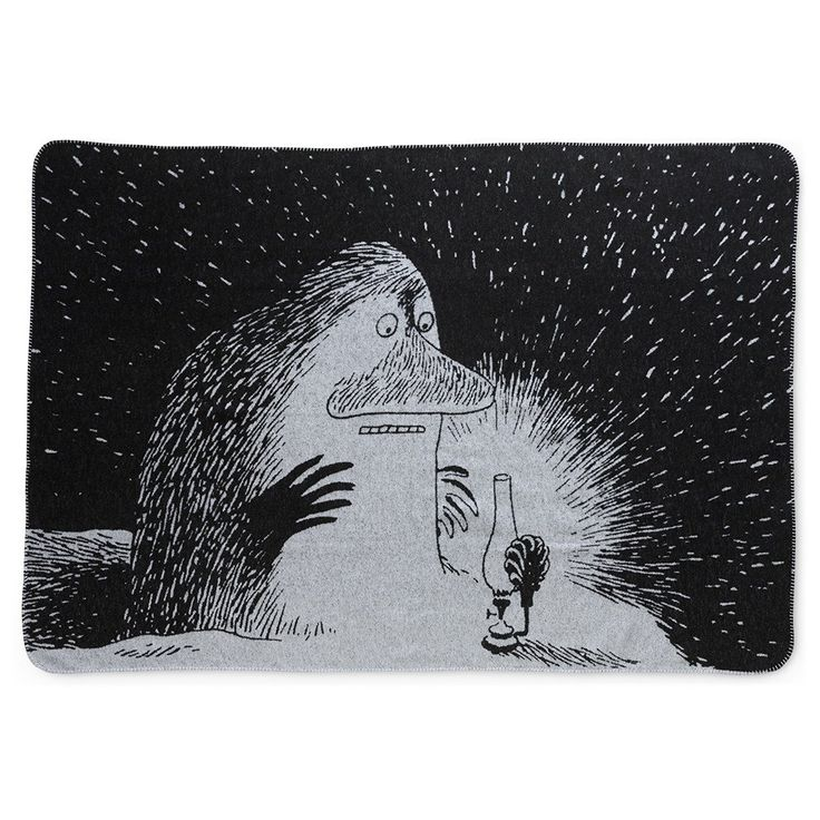 Groke blanket by Finlayson - The Official Moomin Shop
