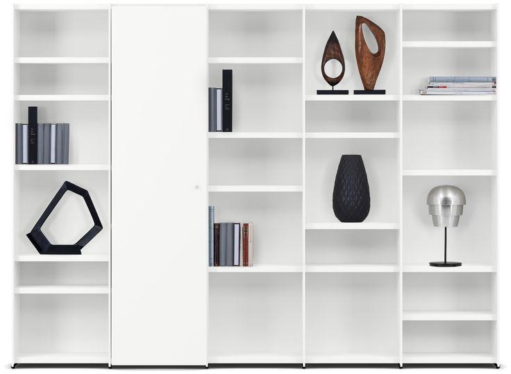 Muebles de sala modernos de boconcept libreros for Libreros modernos