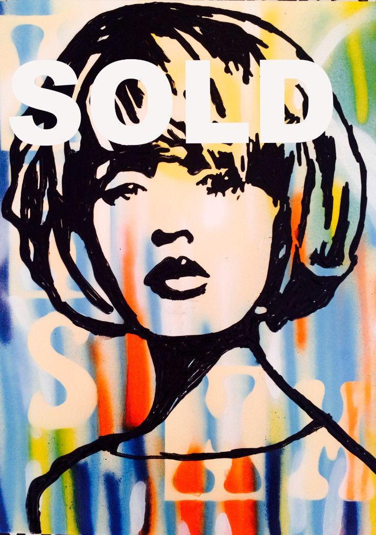 George Street SOLD by McDonald | PLATFORMstore. Painting on board
