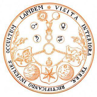 Visita Interiora Terrae, Rectificandoque, Invenies Occultum Lapidem', (visita o interior da Terra e, retificando, encontrarás a Pedra Oculta).  Read more: http://tarotcabala.blogspot.com/2011/11/vitriol-temperanca-arcano-14.html#ixzz3K6ahxp00