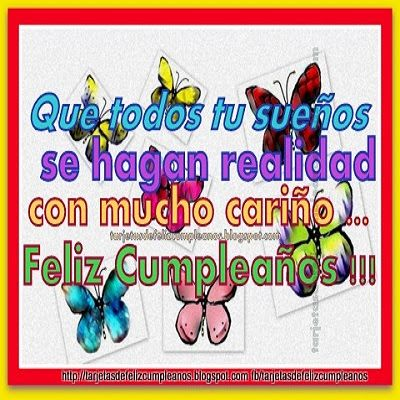 Tarjetas de Cumpleaños .Birthday Cards in Spanish: 250-Tarjetas de cumpleaños .Imagenes para facebook...