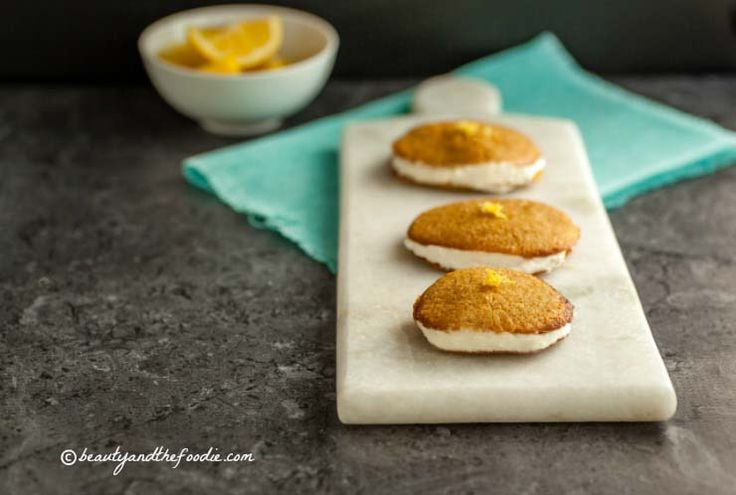 Lemon Sandwich Cookies With Triple Citrus Filling Recipe ...
