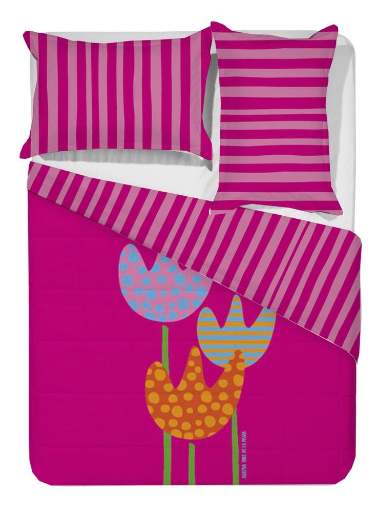 Comforter Tulipanes Agatha Ruiz de la Prada