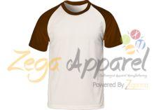 Zegaapparel Baseball tee shirts wholesale raglan blank plain baseball t shirt