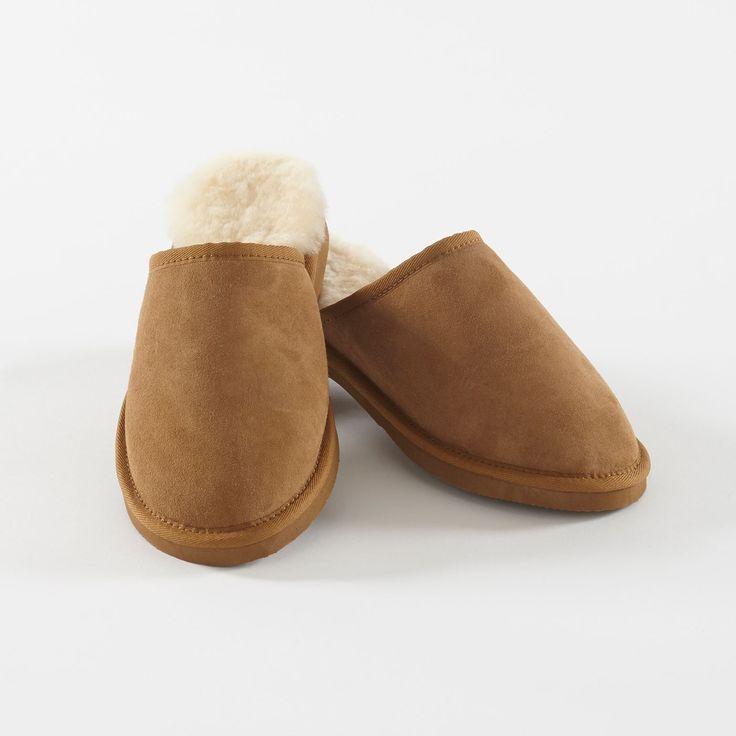 Cosy feet! Mens Sheepskin Slippers - Slippers - Nightwear