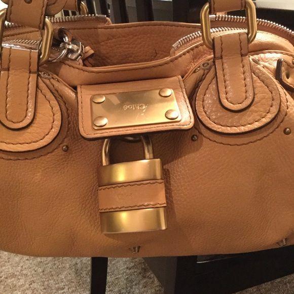 Authentic Chloe Paddington satchel | Chloe Bag, Pebbled Leather ...
