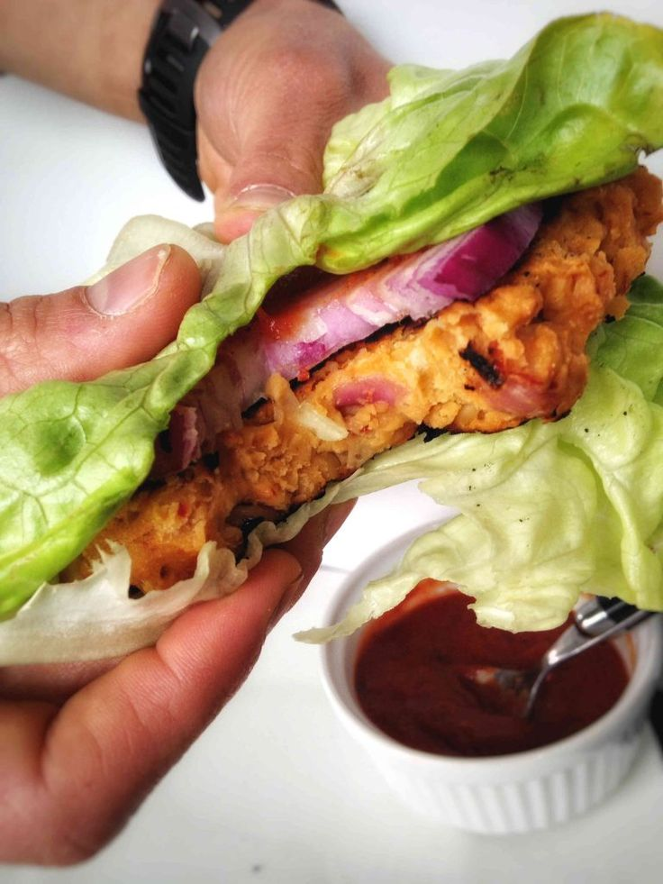 A hearty, flavorful chickpea burger! This vegan, gluten free chickpea burger will NOT disappoint like other veggie burgers - it's got great texture and flavor, and just so happens to be good for you, too!
