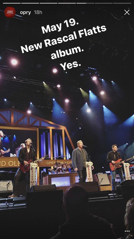 Rascal Flatts at the Grand Ole Opry  3/14/17