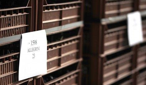 LAST FEW DAYS OF THE APPASSIMENTO PROCESS at the Allegrini winery in Valpolicella Italy.