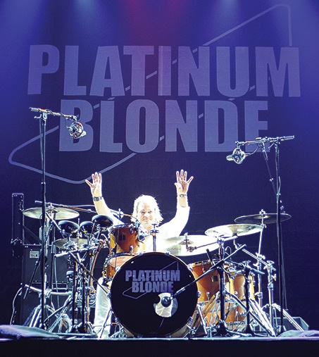 Platinum Blonde- Daniel Todd -  Platinum Blonde is a Canadian rock music group formed in Toronto. The band originally consisted of Mark Holmes from Mansfield, England on vocals and bass, Sergio Galli on guitar and Chris Steffler on drums. Scottish musician Kenny MacLean later joined the group as bassist, freeing Holmes from bass duties.