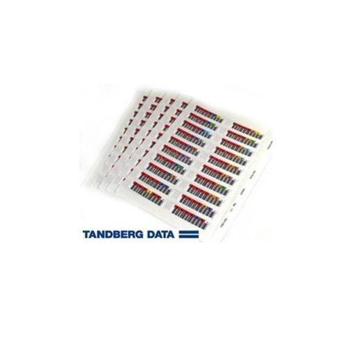 Tandberg Data LTO6 Add on BarCode Label Set 100-Pack 1020837