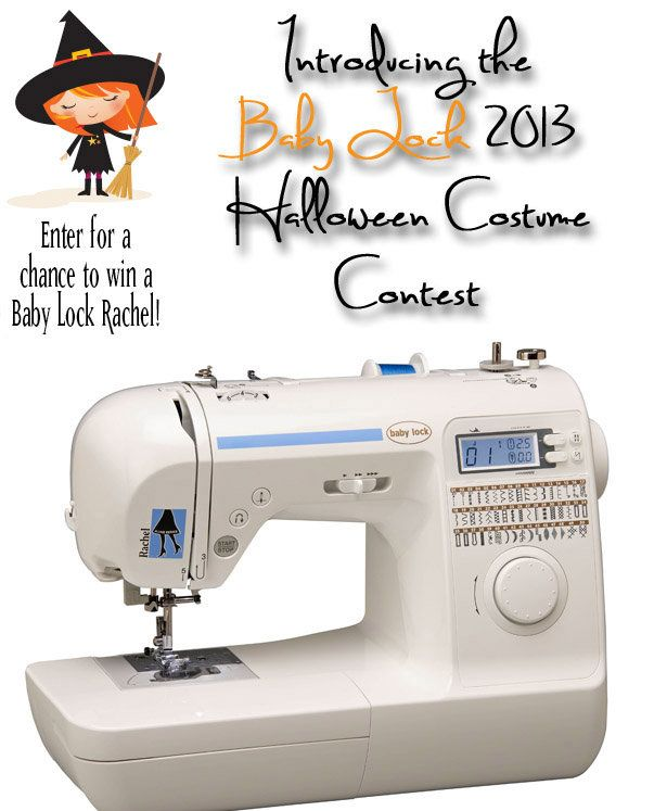 Enter your Halloween costume to win a Baby Lock machine!