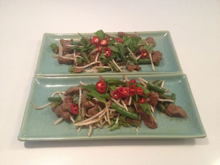 Thai Beef Salad - The Clean Eating Family