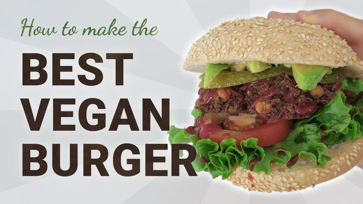 This is definitely THE BEST Vegan Bean Burger I have ever tasted!! yummy! :D