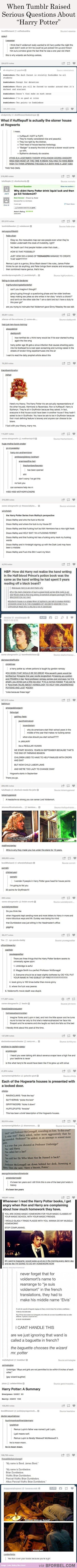 """28 Seriously Amazing """"Harry Potter"""" Questions Raised By Tumblr…"""