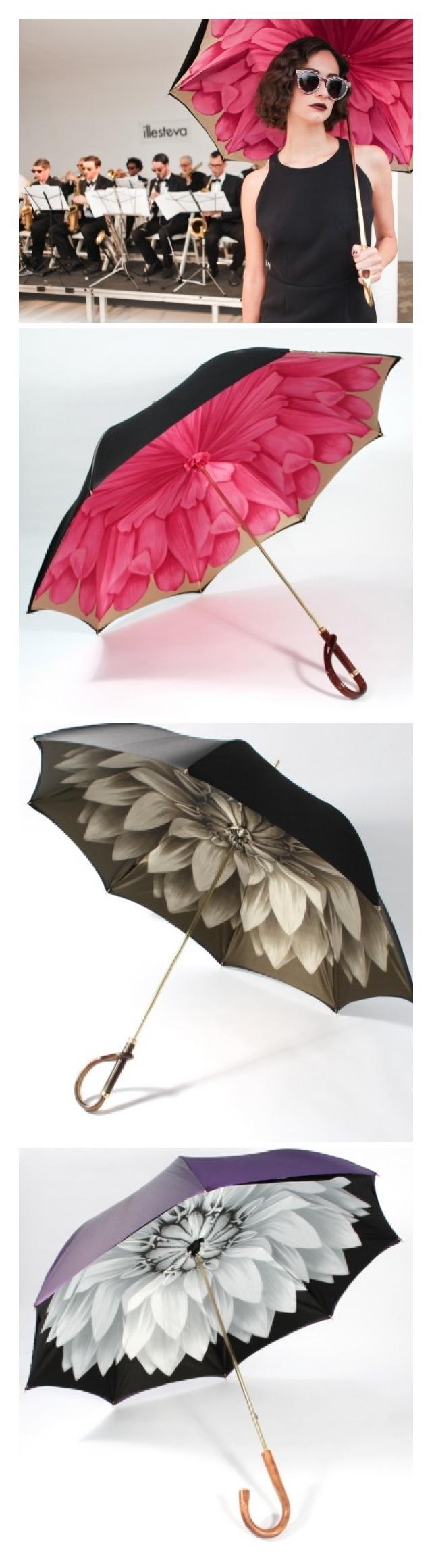 これからの傘は中をおしゃれに!
