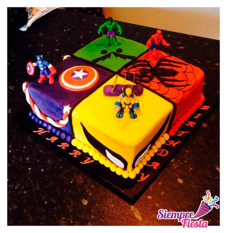 Ideas para fiesta de cumplea os de los avengers encuentra - Ideas infantiles para cumpleanos ...