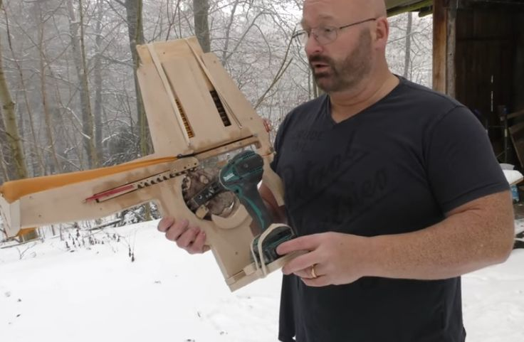 He made a fully automatic crossbow - Homestead Notes - on the Homestead