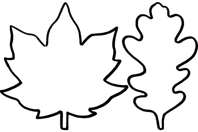 Leaf Template The Best Ideas For Kids Leaf Template Printable Leaf Template Leaf Outline