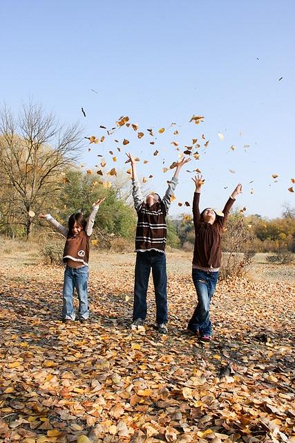 fall family photo inspiration