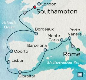 Crystal Cruises European Cachet - http://www.tipsfortravellers.com/crystal/