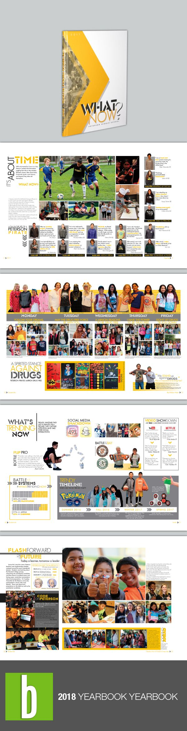 best yearbook images on pinterest yearbook layouts