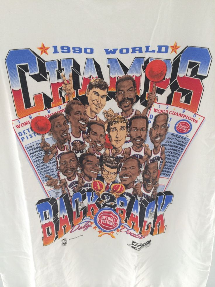 Image Result For Detroit Pistons Back To Back Championships Detroit Pistons Bad Boy Pistons Detroit
