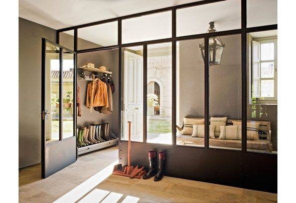 Whether you're lucky enough to have a bona fide mud room or you're make-shifting with an entryway or hallway, a mud room, or mud