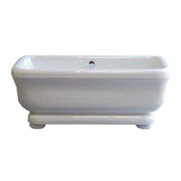 Windemere 70 X 34 Pedestal Soaking Bathtub Pedestal Tub Soaking Bathtubs Bathtub