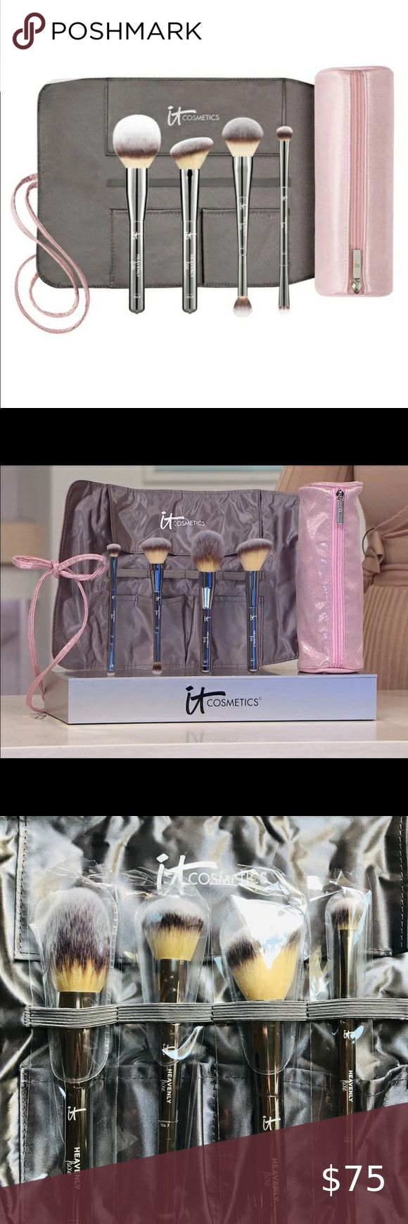 NEW Heavenly Luxe Brush Set with makeup bag💖 NEW unopened