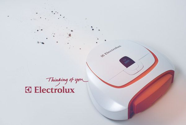 Robot Vacuum - Electrolux by Vincent Säll, via Behance