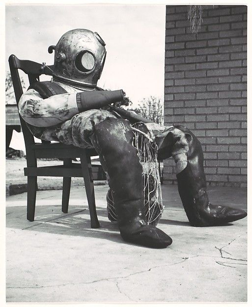 Walker Evans | Sponge Diver's Suit, Florida | The Met