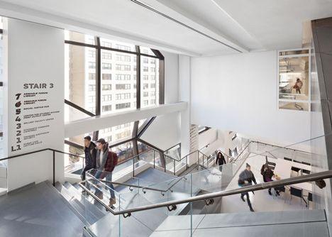 SOM Completes Campus Building For The New School In York SchoolInterior Design