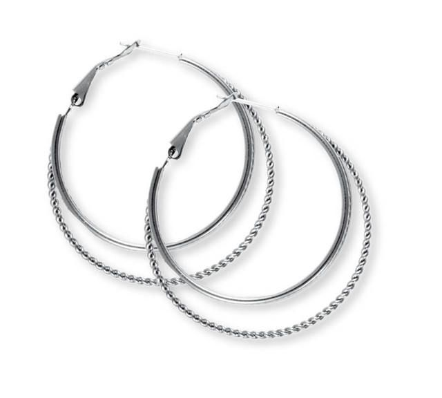 ($22.00) Do you have sensitive ears? All of the earrings we carry are Stainless Steel! There will be no issues with them in your ears! Try it to believe it! Hillary Earings