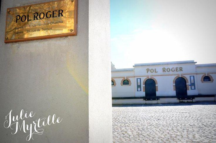 Maison Pol Roger, le champagne officiel des mariages royaux /Pol Roger private mansion, the official Champagne of Royal Wedding