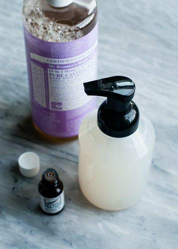 seife selber machen rezepte antibakterielles gel