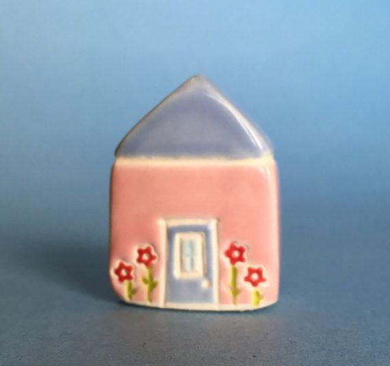 Little flower House  by thelittlereddoor