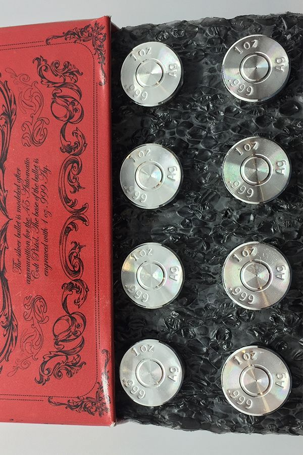 Buy 1 Oz Silver Bullets Online 45 Caliber New Money Metals Exchange Silver Bullet Silver Bullet