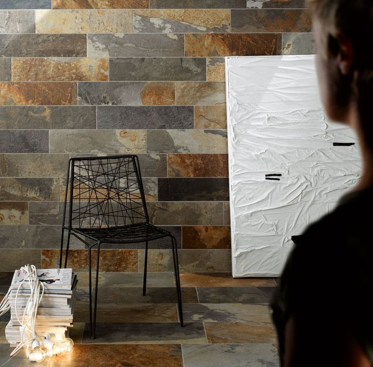 Voyage Porcelain will wear for a lifetime without the maintenance of  natural slate. 25 best Brick Tile images on Pinterest   Porcelain tiles  Brick