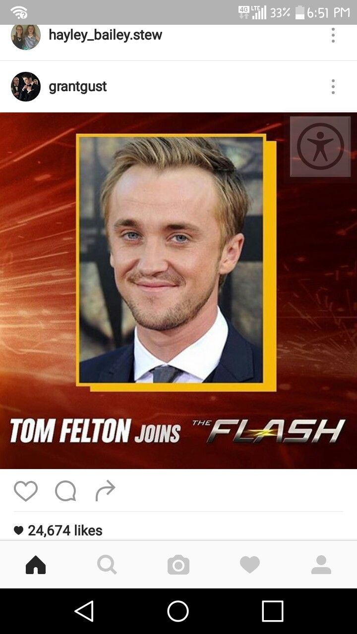 Eeeeee. I so cant wait. For those of u who don't know he plays Draco Malfoy in harry potter