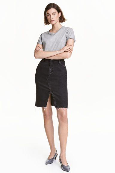 Denim skirt   H&M