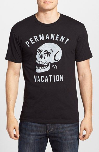5 Crown 'Permanent Vacation' Graphic T-Shirt available at #Nordstrom