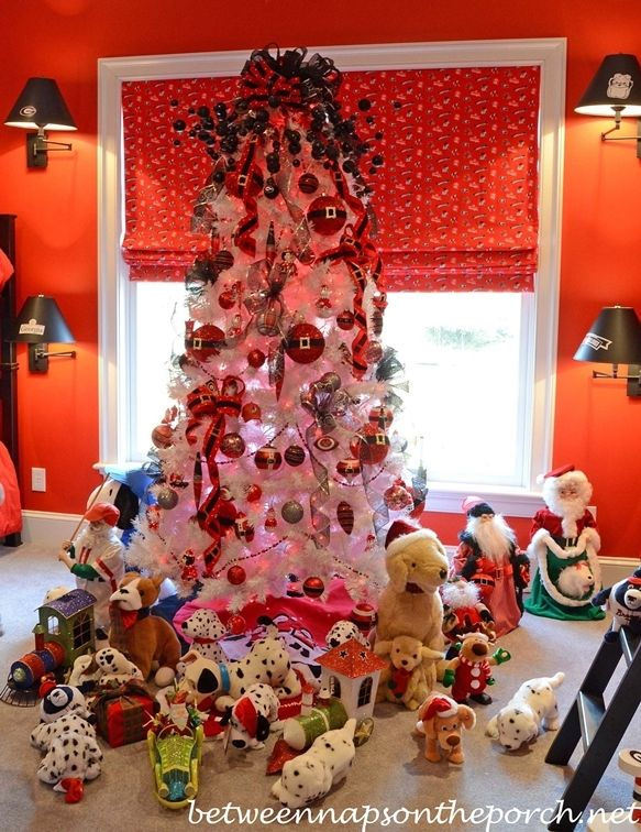 University Of Georgia Bulldog Themed Christmas Tree Could Do It Gamecock Or Panthers