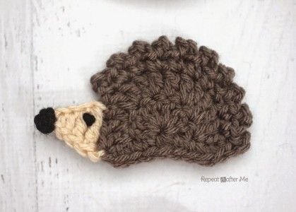 Turning this one into a Dinosaur  10 Free #Crochet Hedgehog Patterns - a special collection on Moogly!