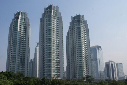 Jakarta the rajawali four seasons 244m 55 fl 132m for Apartment design jakarta