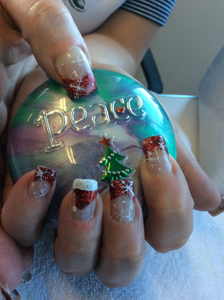 Nails by Ann. Done at Tangles Hair Studio and Day Spa Red Deer Alberta 403-342-4222 www.nailsbyanneducation.com