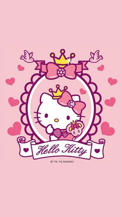 hello kitty, sanrio, and wallpaper imageの画像
