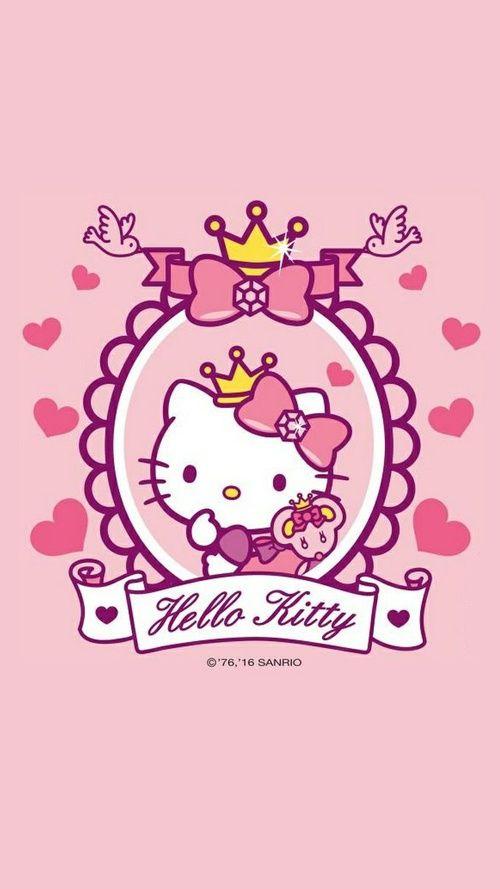 Hello Kitty Wallpaper Wallpaper Pinterest Hello kitty