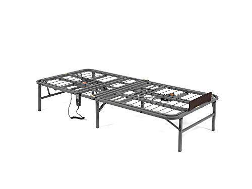 Pragma Bed Pragmatic Adjustable Bed Frame, Head and Foot, Twin, Gray //http://bestadjustablebed.us/product/pragma-bed-pragmatic-adjustable-bed-frame-head-and-foot-twin-gray/