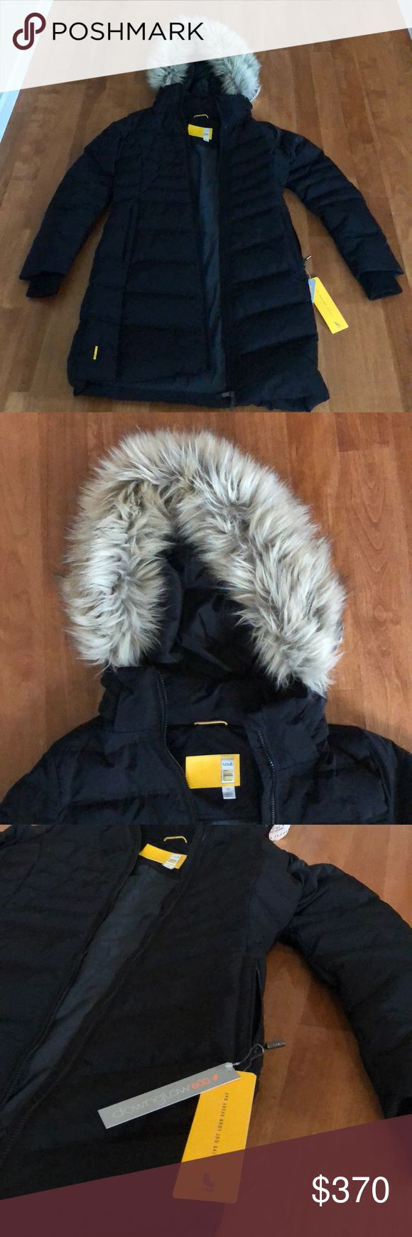 Lole Womens Winter Down Jacket BRAND NEW with tags! Women's Katie Jacket by Lole. Lightweight, warm and length comes just above the knees. Comes with a detachable faux fur hood and longer sleeves to keep the cold out. All around beautiful Jacket. Lole Jackets & Coats Puffers